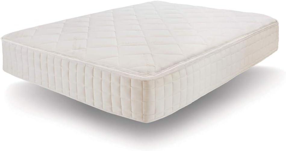 Naturepedic Serenade Organic Mattress, Cushion Firm Hybrid Mattress with Organic Latex and Encased Coils, Queen