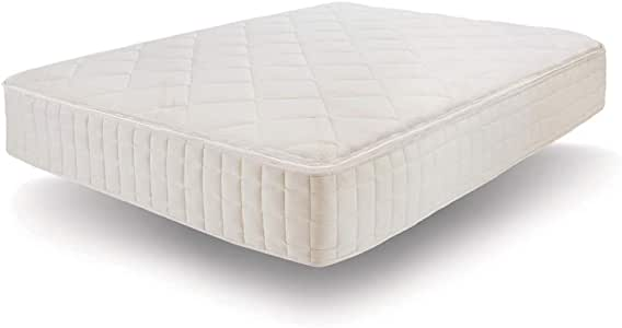 Naturepedic Organic Mattress - Serenade, Latex Cushion Firm 100% Certified Luxury Comfort Without Chemicals - Twin