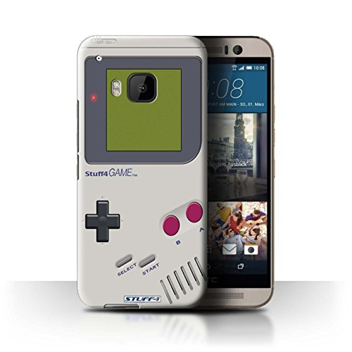 STUFF4 Phone Case / Cover for HTC One/1 M9 / Nintendo Game Boy Design / Games Console Collection