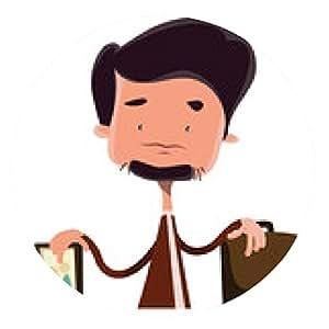 alfombrilla de ratón El hombre de negocios dividido entre la familia y el dibujo vectorial de empleo - ronda - 20cm
