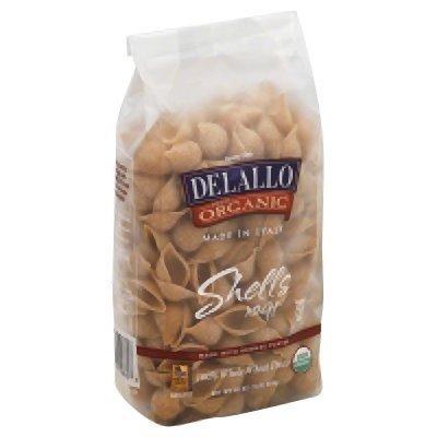 Delallo Organic Pasta Shells No.91 -- 1 lb by DeLallo (Image #1)