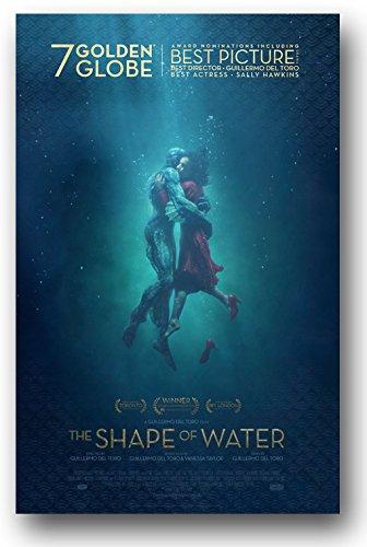 Bildergebnis für The shape of water poster