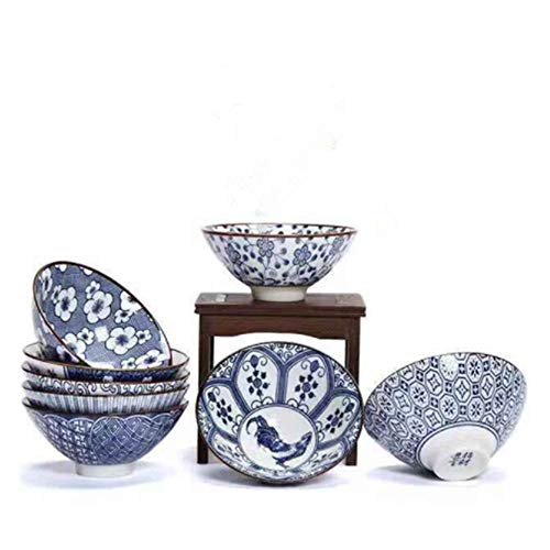 China JingDeZhen Retro Kung Fu Tea Set Hand Painted Blue And White Porcelain Wide Mouth Teacup Master Cup For Home Decoration Gift 4 piece Set
