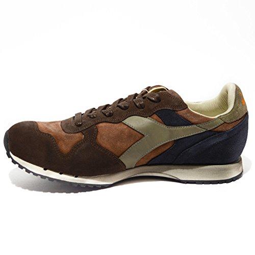 Zapatos pt1453 Diadora Uomo gris Marrone/arancio/tortora/blu