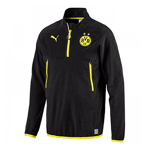2017-2018 Borussia Dortmund Puma Training Fleece (Black)