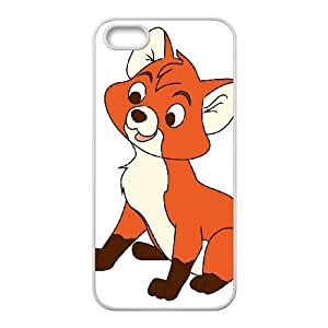 iPhone 5 5s Phone Case Cover White Disney The Fox and the Hound Character Tod EUA15966504 Designer Cell Phone Covers