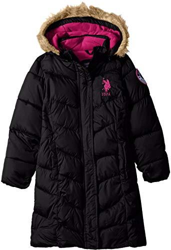 U.S. Polo Assn. Girls Long Bubble Jacket