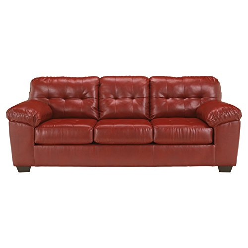 (Ashley Furniture Signature Design - Alliston Contemporary Sofa - Salsa)