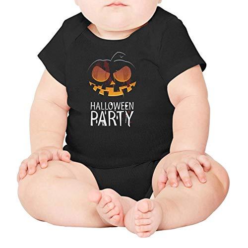 Happy Halloween Pumpkin Carving Unisex Baby Cotton Short Sleeve Funny Onesies Baby Onesies ()