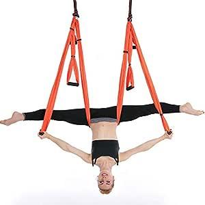 Hamaca De Yoga Estiramiento de hamaca de yoga aérea Cinturón ...