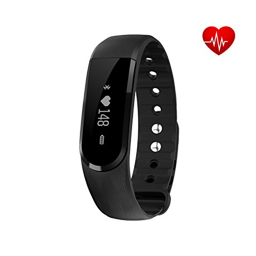 Fitness Tracker, SAVFY Heart Rate Monitor Bluetooth 4.0 w...