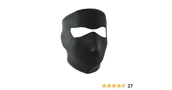 WNFMS114 Zan Headgear Black Full Face Mask