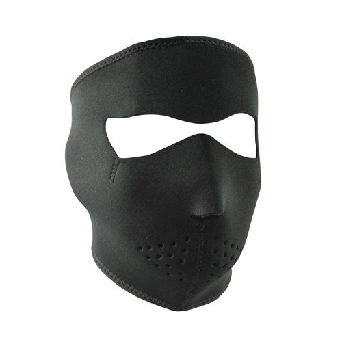 Zanheadgear Neoprene Full Face Mask, Oversized, Black