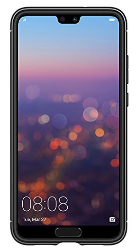 Spigen Rugged Armor HUAWEI P20 Pro Case with Flexible and Durable Shock Absorption with Carbon Fiber Design for HUAWEI P20 Pro (2018) - Black by Spigen (Image #3)