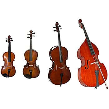 string quartet pack string ensemble bundle violin viola cello bass 4 pack. Black Bedroom Furniture Sets. Home Design Ideas