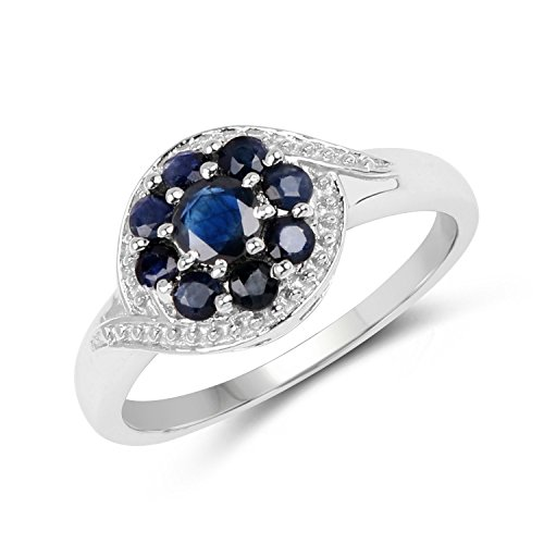 0.99 Carat Genuine Blue Sapphi