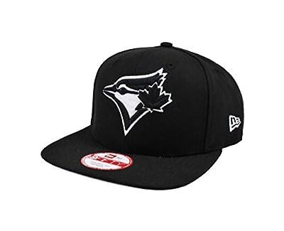 New Era 9Fifty Hat Toronto Blue Jays Practic Black Snapback Cap