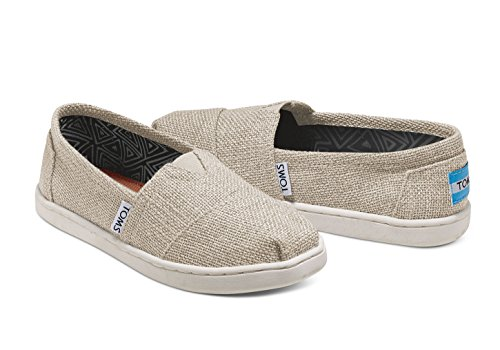 Pictures of TOMS Natural Linen Glitter Youth Classic 10007632 ( 10007632_2.5D 4