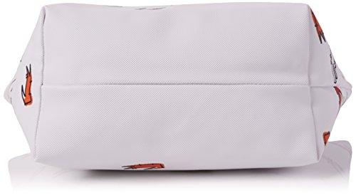 Sacs Lacoste Fob L1212 bandoulière White Concept Blanc Croc OawzfSq8