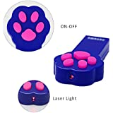 Peteme Laser Pointer, Funny Cat Chaser Toys, Interactive Laser Lighter Pointer to Scratching Training Tool for Cat or Dog (Laser Cat Toy)