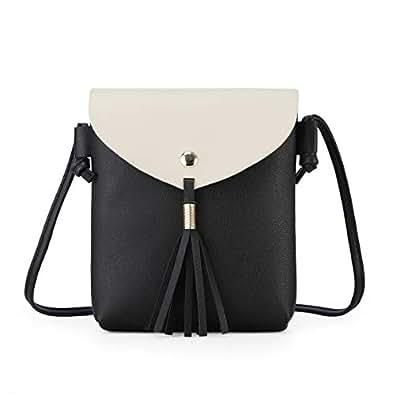 Amazon.com: Bolso pequeño para mujer, con borla para ...