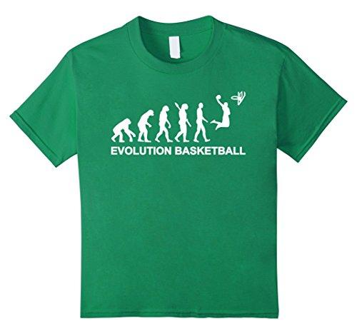 Kids Evolution Basketball T-Shirt 10 Kelly - Kids Evolution T-shirt