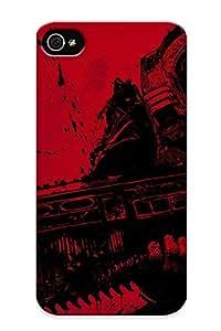 Blackducks Durable Vengeance Never Dies Back Case/ Cover For Iphone 4/4s For Christmas