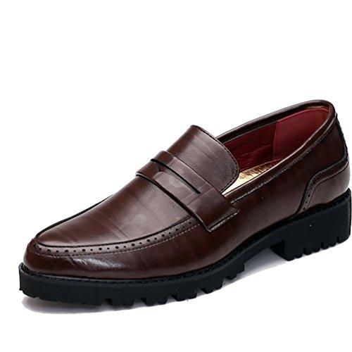 Zapatos Zapatos Marrón Marrón Feidaeu Feidaeu Hombre Feidaeu Hombre xzq4a5nXgw