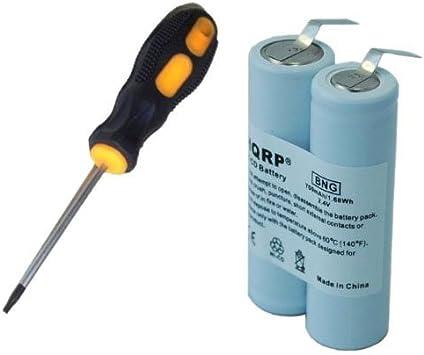 HQRP batería para Philips Norelco 8825 X L, 8845 X L, 8846 X L ...