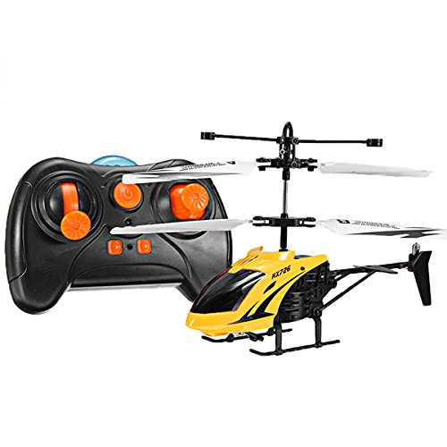 GOKOO Mini Helicopter with Gyro 3.5CH RC Remote Control Toy Quadcopter Drone RTF Best Choice for Beginner Remote Control Toy Quadcopter Drone …