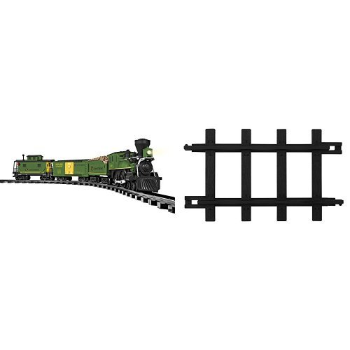 Lionel John Deere Ready to Play Train Set and 12-Piece Straight Track -