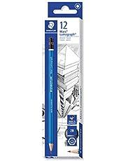 STAEDTLER 100-2B VE Drawing pencil, Grey, Pack Of 12