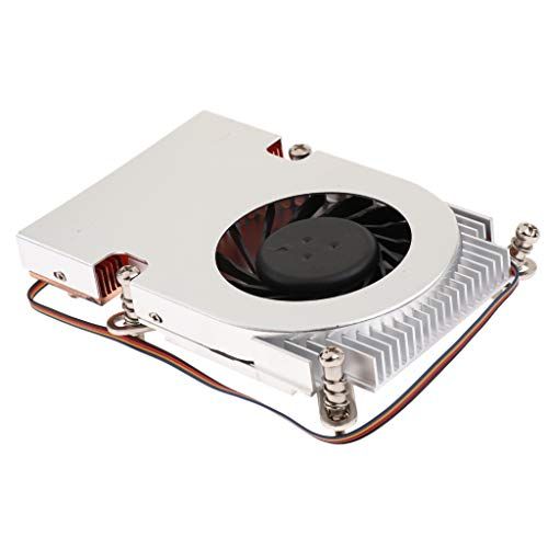 MagiDeal Oil Bearing CPU Cooler Heatpipe Fans Heatsink Radiator for Intel 1155 1156 by Unknown