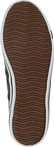 Cotton Canvas Chaussures basses pour homme sans lacets FR:42 Anthracite