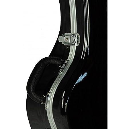 Estuche ABS para Guitarra Clásica, marca Cibeles (Negro Brillante)