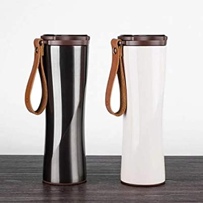 Vacuum Cup - 2018 Original Portable Vacuum Cup Light Intelligent Thermal Water Bottle Stainless Steel Coffee - Anti Starbucks Female Zojirushi The Sex Gorila Temperature Bascketball B077dtkxlm