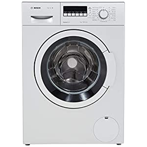Bosch 7 kg Fully-Automatic Front Loading Washing Machine (WAK24264IN, Silver, Inbuilt Heater)