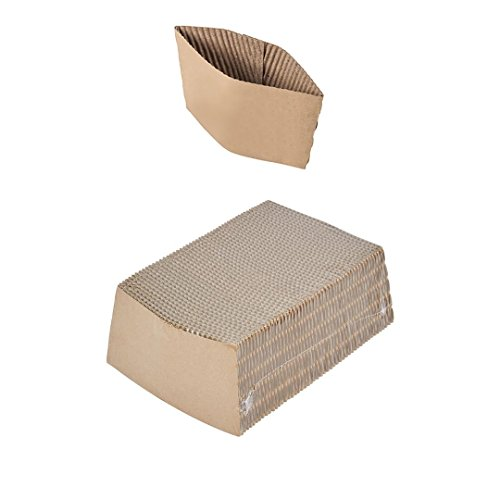 Pantryware Essentials PE Coffee Sleeves-100 Pantryware Essentials Coffee Sleeves Fits, 10 oz. - 20 oz. Cups (Pack of 100)