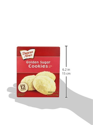 Amazon.com : Duncan Hines Snack Cookie Mix, Golden Sugar, 6.7-Ounce (Pack of 12) : Grocery & Gourmet Food