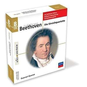 Ludwig van Beethoven: Die Streichquartette [Complete String Quartets] (Guarneri Quartet; 2007 Reissue on Decca Eloquence]