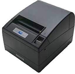 Citizen America CT-S4000PAU-BK CT-S4000 Series POS Thermal Printer, 112 mm Paper, 150 mm/Sec Print Speed, 69 Columns, IEEE 1284 Parallel and USB Connection, Black