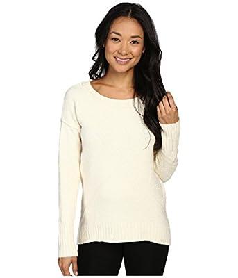 Calvin Klein Women's Crew Neck High-Low Hem Pullover Sweater