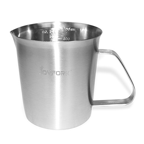 2000ml Stainless Steel Coffee Milk Pitcher Frothing Cup - SILVER - 2