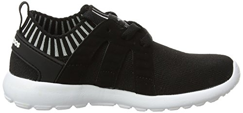 KangaROOS K-Sock, Zapatillas Unisex Niños Schwarz (Jet Black/Vapor Grey)