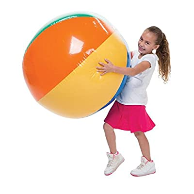US Toy Inflatable Giant Beach Ball, 30 Inches: Toys & Games