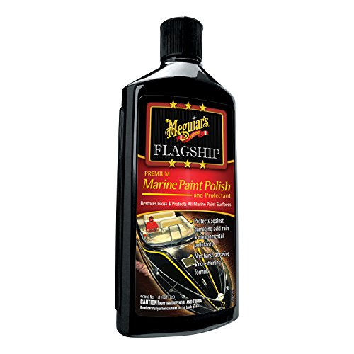 Meguiar's M19716 Premium Marine Paint Polish and Protectant - 16 (Premium Marine Polish)