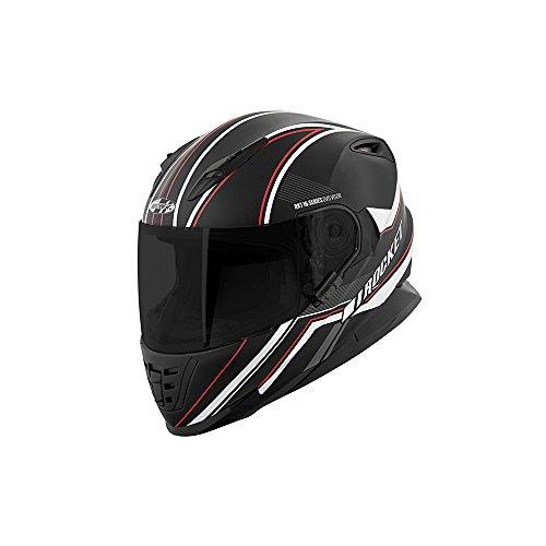 Casco Rkt 16 Series Reflex Negro Rojo Plata Corsa Talla L