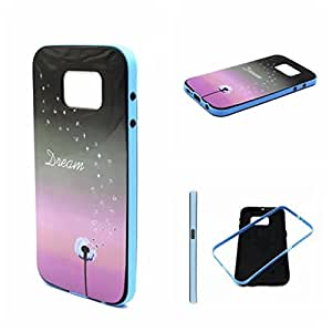 Case Galaxy S6, New Case for S6,Kaseberry Had Back Cover Sin Case for Samsung Galaxy S6