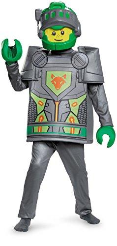 Aaron Deluxe Nexo Knights Lego Costume, Small/4-6