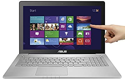 "ASUS N550JK-DB74T 15.6"" Full-HD Touchscreen Quad Core i7 Laptop w/ Aluminum-Body, 16GB RAM & 256GB SSD"